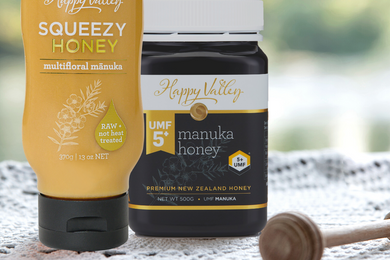 Multifloral vs. Mānuka Honey - What's the difference?