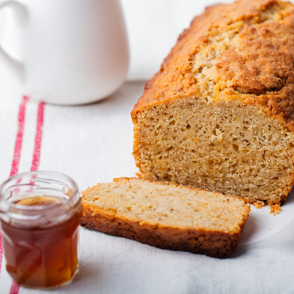 Mānuka Honey and Banana Loaf