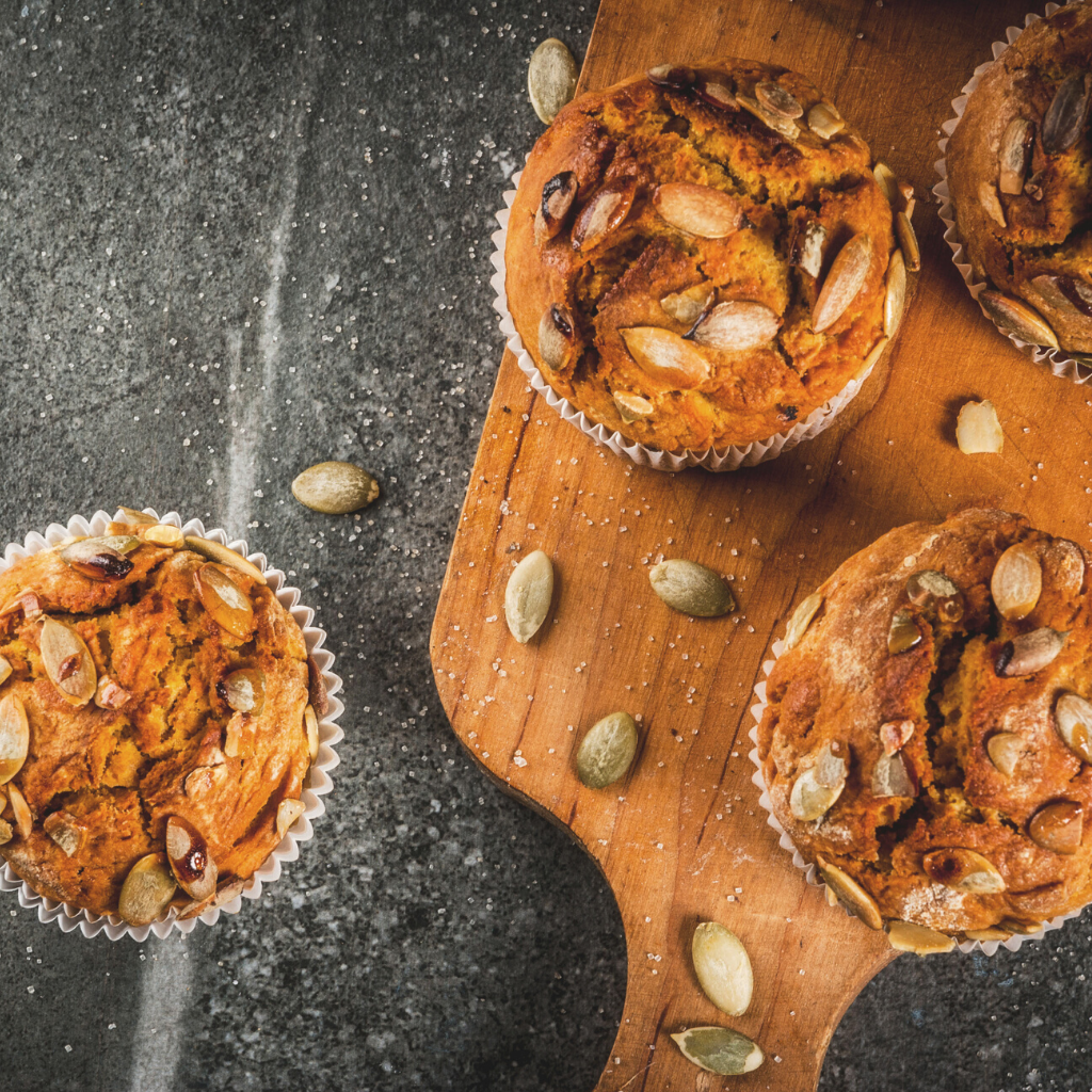 Superfood Breakfast Muffins with Manuka Honey