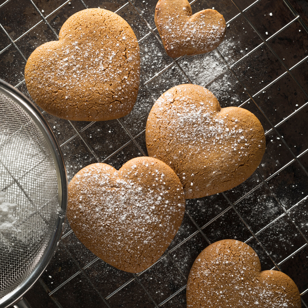 Honey Heart Cookies