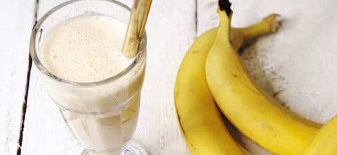 Funky Monkey in a glass with bananas