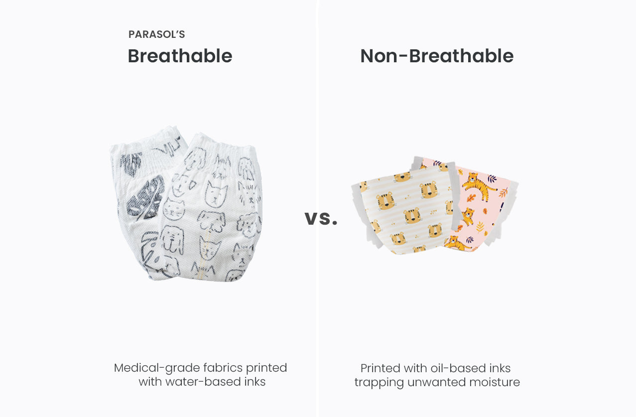 parasol breathable diapers