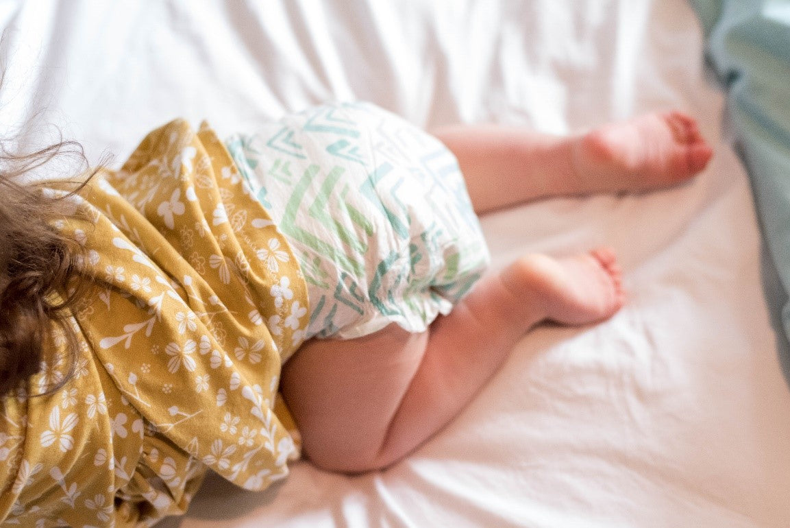 use gentle diapers for changing