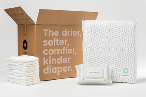 Clear+Dry™ Diapers 1 Pack (Partners) 1 Box