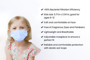 Disposable 3-Ply Children Face Mask (Members)