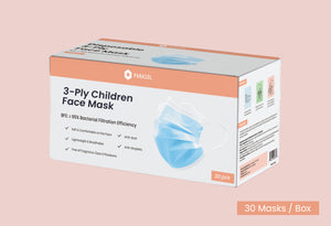 Disposable 3-Ply Children Face Mask