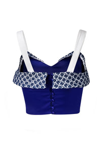 Crop Top Jama Azul