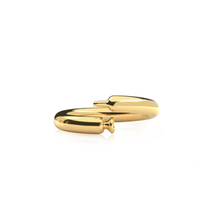Anillo Latex Balloon Dorado