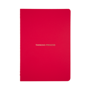 A5 Cuaderno Red Thinking Process