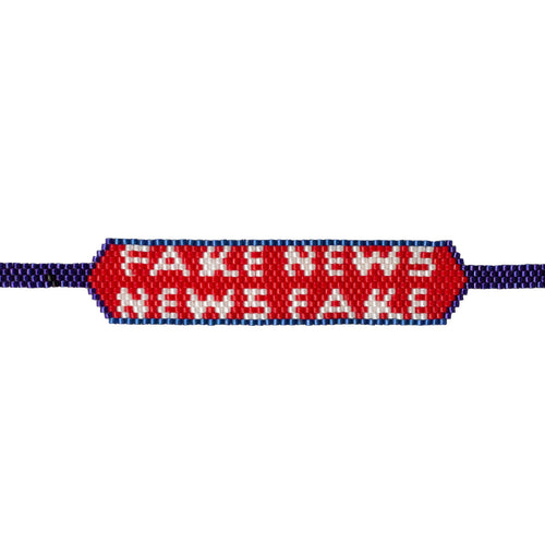 Pulsera Haiku Fake News