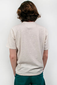 The Ray Boxy Tee Beige