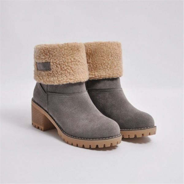Abacde Winter Shoes Fur Warm Snow Boot