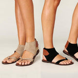 Abacde Flip Flops Ankle Buckle Sandals