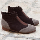 Abacde Women Fashion Suede Boots