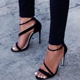 Abacde Round Toe Stiletto High-Heels