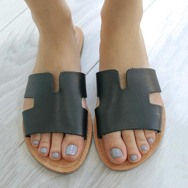 Abacde Summer Simple Comfy Slippers