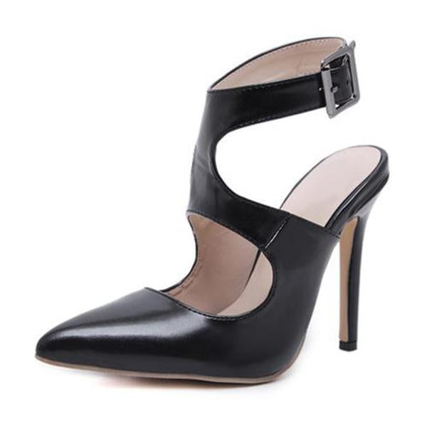 Abacde Adjustable Buckle High Heels