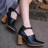 Abacde Trendy Point Toe Heels
