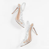 Abacde Fashion Open Toe Swing High Heels