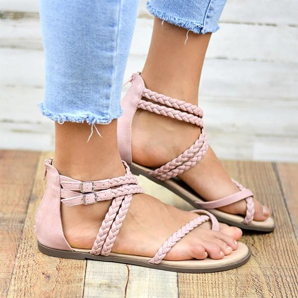 Abacde Casual Comfy Roman Sandals