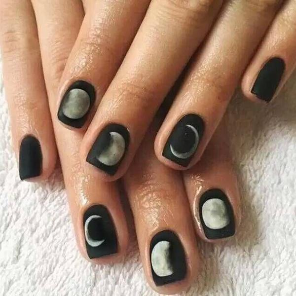 Abacde Moon Phase Fashion Toes Nail Stickers