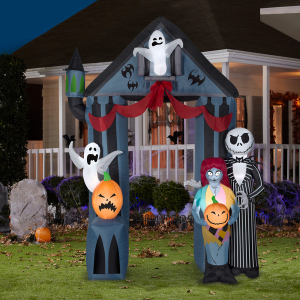 Halloween 9' Nightmare Before Christmas Archway