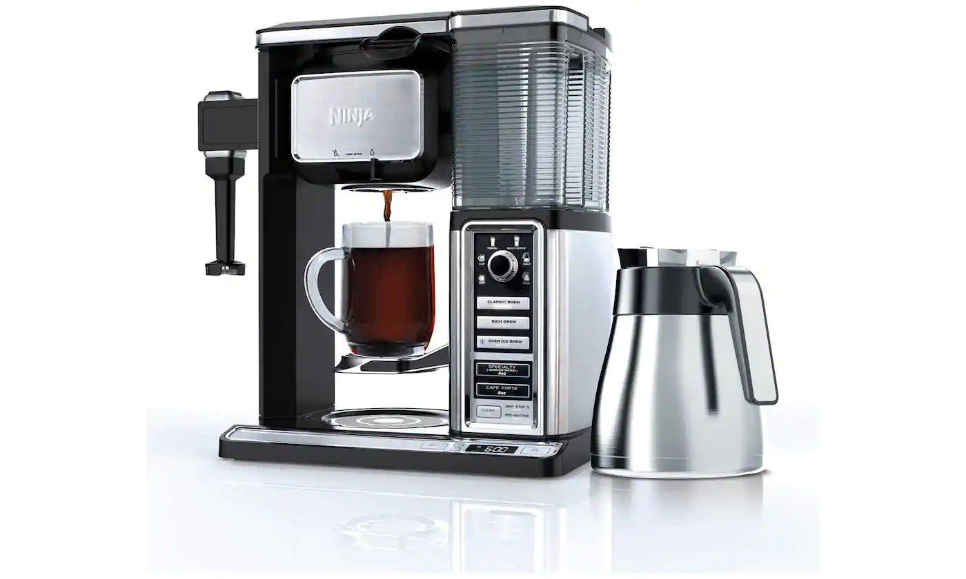 Ninja Coffee Bar Auto-IQ with Built-In Frother