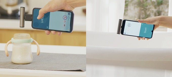Portable Thermometer For Mobile Devices