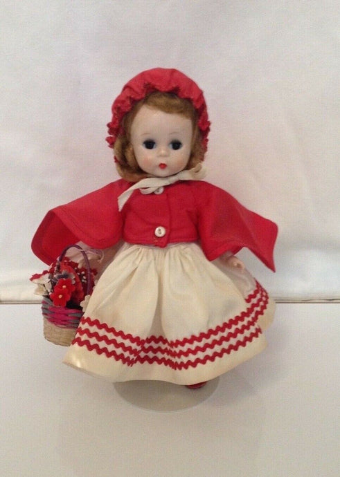 Vintage 1955 Rare Hard to Find  Madame Alexander #471 RED RIDING HOOD, SLW