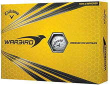 Load image into Gallery viewer, Callaway Warbird Golf Ball, Prior Generation, (One Dozen), White 642145412 One Size
