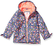 Load image into Gallery viewer, Carter's Baby Girls Midweight Fleece-Lined Jacket, Floral On Blue, 24 Months C219516