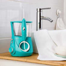 Load image into Gallery viewer, Waterpik Water Flosser Electric Dental Countertop Oral Irrigator For Teeth – Aquarius Designer, WP-676 Teal