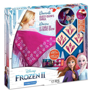 Frozen Make It Real Queen Iduna's DIY Shawl