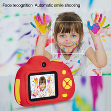 Load image into Gallery viewer, omzer Digital Camera for Kids, 1080P HD Video Camera Mini Child Camcorder with 2 Inch LCD Screen Best 8MP Creative Gifts for 3-7 Year Old Boys Girls, Red(16GB Memory Card Included)