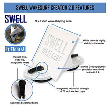 Load image into Gallery viewer, SWELL Wakesurf Creator 2.0 Surfing Wavesurf Shaper - Wave Generator - Floating - Durable & FBA_1FT