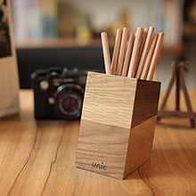 Load image into Gallery viewer, Unic Goods Wooden Desk Organizer