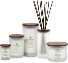 Load image into Gallery viewer, Chesapeake Bay Candle Reed Diffuser, Peace + Tranquility (Cashmere Jasmine)