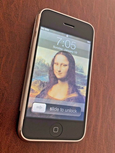iPhone A1203 2G 1st Gen 8GB Unlocked Original IOS 1.0 Filmware 12 icon RARE FIND