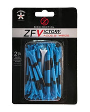 Load image into Gallery viewer, Zero Friction Victory 5-Prong Golf Tees (2-3/4 Inch, Blue, Pack of 40) ZV10000 2 3/4