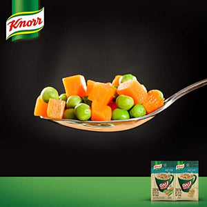 ELECTRA [Pack of 24] Knorr Cup a Soup Instant Soup with Vegetables 100% Natural Ingredients