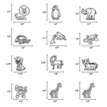 Load image into Gallery viewer, Animal Suncatcher Refill Pack 12 pk by Horizon Group USA
