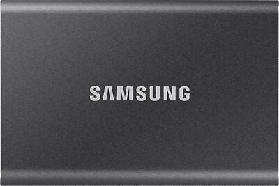 Samsung - T7 2TB External USB 3.2 Gen 2 Portable Solid State Drive with Hardw...