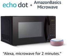 Load image into Gallery viewer, Basics Microwave bundle with Echo Dot (3rd Gen) - Plum