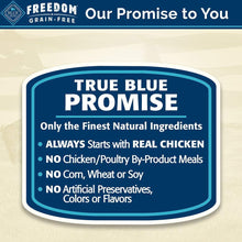 Load image into Gallery viewer, Blue Buffalo Freedom Grain Free Natural Adult Dry Dog Food, Chicken 24-lb