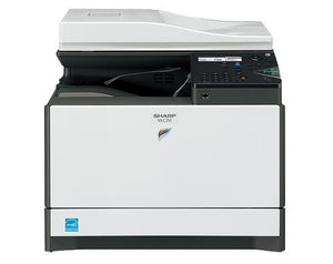 "ABD Office Solutions Sharp MX-C250 A4 Color Laser Multifunction Printer - 25ppm, Copy, Print, Scan, Auto Duplex, Network, 600 x 600 dpi, 1 Tray 17"" (w) x 20"" (d) x 15 3/4"" (h)"