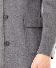 Load image into Gallery viewer, DKNY Men's Regular Overcoat, Grey, 42R DGGAO4NT0021