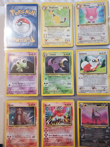 pokemon, neo revelation, complete set, secret rare, shiny gyrados,shiny magikarp