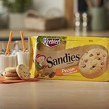 Load image into Gallery viewer, Keebler Sandies Cookies, Pecan Shortbread, Family Size, 17.2 Ounce Pack 3010011265