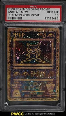 2000 Pokemon Game Promo 2000 Movie Ancient Mew PSA 10 GEM MINT