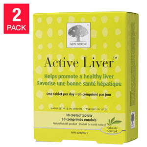 New Nordic Active Liver 2-pack of 30 Tablets
